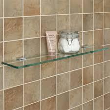 bathroom tempered glass shelf: chrome  c chrome