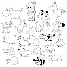 Farm Coloring Pages Preschool Animals Printable Coloring Pages