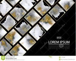 Luxeachtergrond Met Gouden En Grijze Marmeren Waterverftextuur