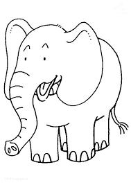 Elephant Color Sheet Elephant Color Elephant Coloring Page Elephant