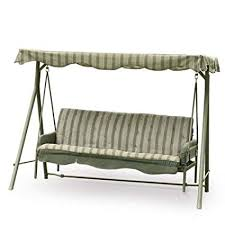 amazon replacement canopy for walmart s seacliff 3 seater hammock swing outdoor canopies garden outdoor