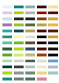Pacific Polymers Color Chart Omnicolor Color Chart Mighty Media Color Chart White Uk