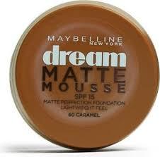 Maybelline Dream Matte Mousse Foundation 60 Caramel Price In Saudi Arabia Compare Prices