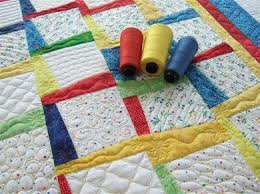 Get Creative with Background Filler Quilting Designs & Primary Colors Baby Quilt with Filler Designs Adamdwight.com