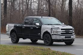2018 ford 3 4 ton truck. unique 2018 2018 ford f150 pickup truck spy shot inside ford 3 4 ton