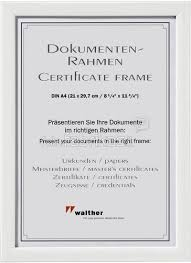 white certificate frame walther shades white 21x29 7 certificate frame plastic jc130w
