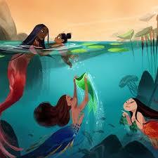 Small Picture Best 25 Black mermaid ideas on Pinterest Beautiful mermaid
