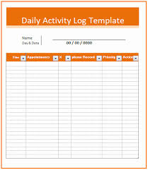 Construction Daily Log Template Lovely Daily Job Report Template ...