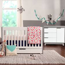 Miraculous Babyletto Hudson Dresser 2 Piece Nursery Set Mercer Crib And  Hudson Changer Nursery Furniture Matched With Convertible Crib Design Ideas