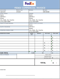 Blank Commercial Invoice Template 55 Free Templates Smartsheet Excel