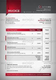 23 Best Invoice Design Templates For Premium Download Invoice