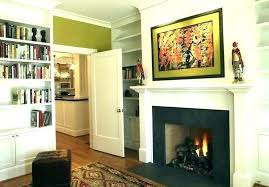 fireplace mantel height average mantle from floor with above home design ideas code ontario