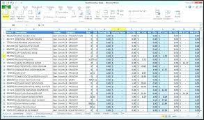 Excel Templates For Small Business Bookkeeping Accounts Receivable Ledger Example Bookkeeping Excel
