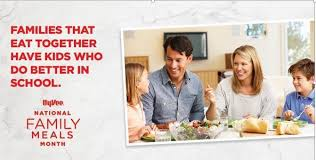 family meals month hy vee national family meals month eat right and bright nebraska