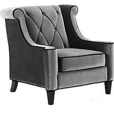 armen living jetson chair. armen living modern grey velvet chair (gray) (fabric) jetson n