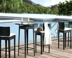 pub height table set round pub table sets outdoor bar table and chairs pub height tables