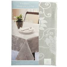 fl embossed grey 70 round tablecloth