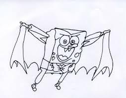 Disegni Da Colorare Di Spongebob Halloween Fredrotgans