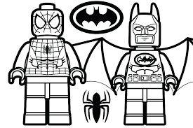 Lego Batman Villain Coloring Pages Batman Villains Coloring Pages