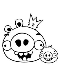 King Pig En Minion Kleurplaat Gratis Kleurplaten Printen
