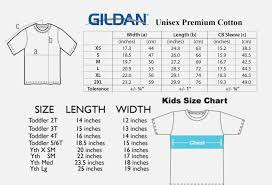 Youth Shirt Sizes Online Charts Collection