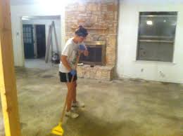 staining concrete floor diy stain concrete flooring home renovation dark stained concrete floors diy south