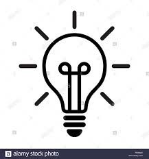 Light Bulb Symbol Copy And Paste Light Bulb Logo Stock Photos Light Bulb Logo Stock Images
