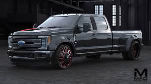 2018 ford dually black. contemporary ford the mad industries ford super duty concept is based on a 2017 f350  44 lariat crew cab dually with 67liter power stroke turbo diesel  inside 2018 ford black