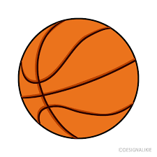 Simple Basketball Clipart Free PNG Image|Illustoon