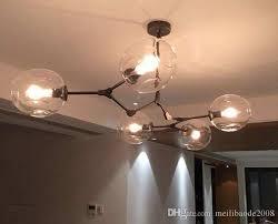 bubble glass pendant light lovely lindsey adelman light creative branching bubble glass chandelier