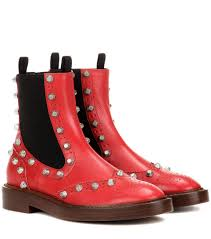balenciaga embellished leather chelsea boots red women balenciaga long wallet balenciaga long strap