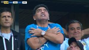 World Cup 2018: Diego Maradona shows off sultry dance moves ahead of  Argentina win against Nigeria