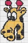 Орнамент животных для вязания спицами детям