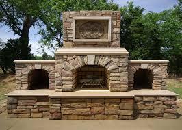 Outdoor Fireplace Kits - Masonry Fireplaces