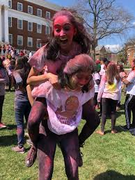 Colors Her Celebrated Campus Of Hindu How The Holi Umd Festival