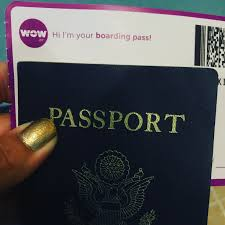 everything you need to know about flying wow air once on the plane you ll be assaulted the color purple the flight attendants are decked out from head to toe and the carpet screams wow in purple as