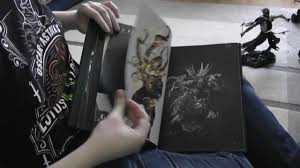 unboxing dark souls 3 collectors edition mit sneak peak ins art book