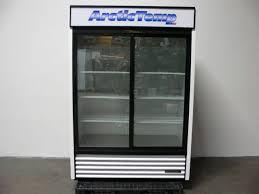 true gdm 47 ld sliding glass door display merchandiser refrigerator mfg 2016