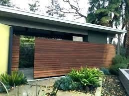 mid century modern fence diy