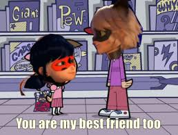 Image result for miraculous meme