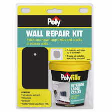 poly wall repair kit bunnings warehouse