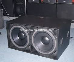 18 Inch Subwoofer Box Design Double 18 Subwoofer Cabinet Crazymba Club