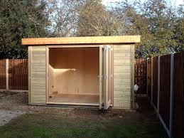 office garden shed. 12 X 8 Garden Office With Trifold Sliding Doors Shed H