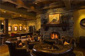 rec room furniture and games. Imposing Decoration Rec Room Furniture Awesome Design Open Country Rustic Game With Beams And Fireplace Gamerooms Games I
