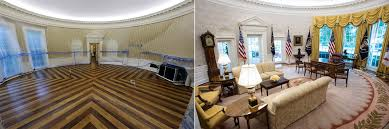 oval office white house. White House Renovation Photos The Oval Office