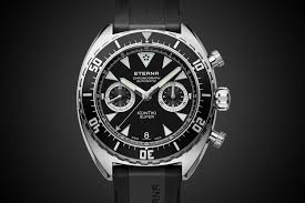 2016 Flyback Chronograph Super Watches Eterna Kontiki In-house - Movement Baselworld 4 Monochrome