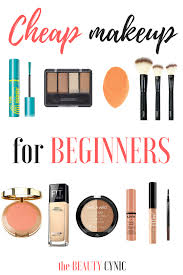 makeup kit for beginners. cheap makeup for beginners - 10 products under bucks kit