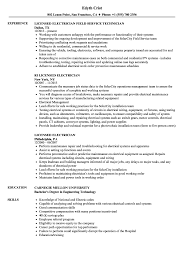 Sample Of Electrician Resumes Licensed Electrician Resume Samples Velvet Jobs