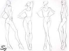 23 Best Fashion Model Sketch Images Fashion Model Sketch