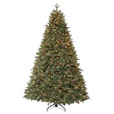 Holiday Living 7.5-ft Pre-lit Hayden Pine Artificial Christmas Tree with  900 Constant
